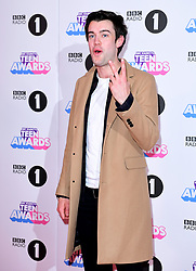 *Editors note gesture* Jack Whitehall attending BBC Radio 1's Teen Awards, at the SSE Arena, Wembley, London.