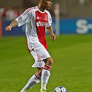 NLD/Amsterdam/20100928 - Champions Leaguewedstrijd Ajax - AC Milan, Gregory van der Wiel