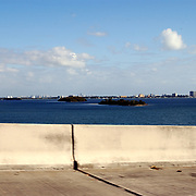 Vakantie Miami Amerika, Miami gezien vanaf de snelweg
