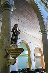 Vista interna da Catedral da Sé - Igreja de São Salvador do Mundo. Local do túmulo do arcebispo emérito de Recife e Olinda Dom Heldér Câmara FOTO: Jefferson Bernardes/ Agência Preview