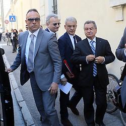 INTERROGATORIO EX MINISTRO CORRADO CLINI PRESSO IL TRIBUNALE DI FERRARA<br /> FERRARA 28-05-2014<br /> FOTO FILIPPO RUBIN