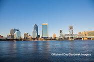 63412-01307 City Skyline and  St. Johns River, Jacksonville, FL