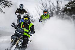 Snow-biking in the Snake Range of Idaho