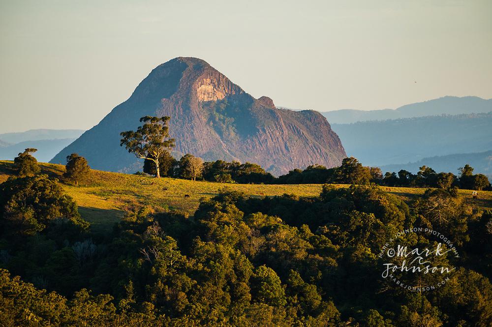 Mt Beerwah, Glass House Mountains, Maleny, Sunshine Coast Hinterland, Queensland, Australia