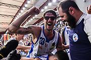 Achille Polonara<br /> Banco di Sardegna Dinamo Sassari - Sidigas Scandone Avellino<br /> LBA Serie A Postemobile 2018-2019<br /> Sassari, 14/04/2019<br /> Foto L.Canu / Ciamillo-Castoria