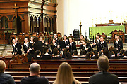 Concert at St James Church Sydney, part of the 2019 Australian International Music Festival