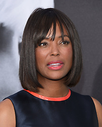July 24, 2017 - Los Angeles, California, U.S. - Aisha Tyler arrives for the premiere of the film 'Atomic Blonde' at the Ace theater. (Credit Image: © Lisa O'Connor via ZUMA Wire)