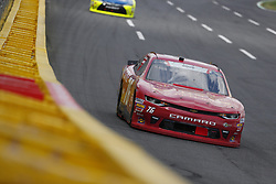 May 26, 2018 - Concord, North Carolina, United States of America - Spencer Boyd (76) brings his car through the turns during the Alsco 300 at Charlotte Motor Speedway in Concord, North Carolina. (Credit Image: © Chris Owens Asp Inc/ASP via ZUMA Wire)