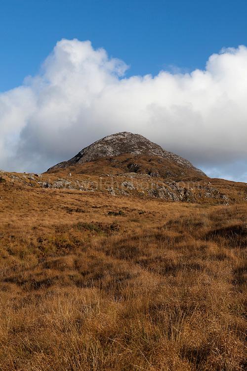 Diamond Hill, a mountain in the Twelve Bens (or Pins) range, part of Connemara National Park, Galway, Ireland