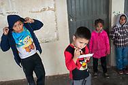 """Vicam, Sonora. Mexico:scuola primaria """"Felipe Matuz Cordova"""". Yaqui reserved land."""