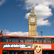 Big Ben is the nickname for the great bell of the clock tower at the north end of the Palace of Westminster in London,