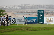 Scott Vincent (ZIM) on the 9th during Round 1 of the Oman Open 2020 at the Al Mouj Golf Club, Muscat, Oman . 27/02/2020<br /> Picture: Golffile   Thos Caffrey<br /> <br /> <br /> All photo usage must carry mandatory copyright credit (© Golffile   Thos Caffrey)