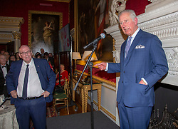 The Prince of Wales attends a tea party held at Spencer House in London to celebrate 70 inspirational people marking their 70th birthday this year.