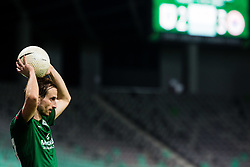 Matic Fink  of NK Olimpija Ljubljana during football match between NK Olimpija Ljubljana (SLO) and HSK Zrinjski Mostar (BIH) in Second Round of UEFA Europa League Qualifications, on September 17, 2020 in Stadium Stozice, Ljubljana, Slovenia. Photo by Grega Valancic / Sportida