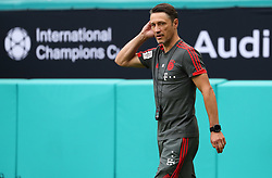 July 27, 2018 - Miami Gardens, Florida, USA - FC Bayern head coach NIKO KOVAC walks the field during a practice session in preparation for an International Champions Cup match against Manchester City at the Hard Rock Stadium in Miami Gardens, Florida. (Credit Image: © Mario Houben via ZUMA Wire)
