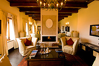 Living room area of the Dutch East India Heritage Suite, Steenberg Hotel, Constantia Valley (near Cape Town), South Africa