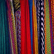 Hammocks in market. Oaxaca, Mexico.