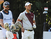 Golf - 2019 BMW PGA Championship - Thursday, First Round<br /> <br />  Martin Kaymer of Germany with his caddie, at the West Course, Wentworth Golf Club.<br /> <br /> COLORSPORT/ANDREW COWIE