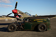 Ratrod and Curtiss P-40E Warhawk at Warbirds Over the West.