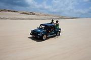Natal_RN, Brasil...Passeio de buggy nas dunas no litoral norte...The buggy ride in the north coast...Foto: LEO DRUMOND / NITRO