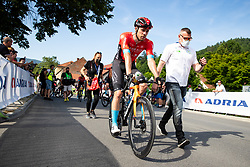 Phil BAUHAUS of BAHRAIN VICTORIOUS during 1st Stage of 27th Tour of Slovenia 2021 cycling race between Ptuj and Rogaska Slatina (151,5 km), on June 9, 2021 in Slovenia. Photo by Matic Klansek Velej / Sportida