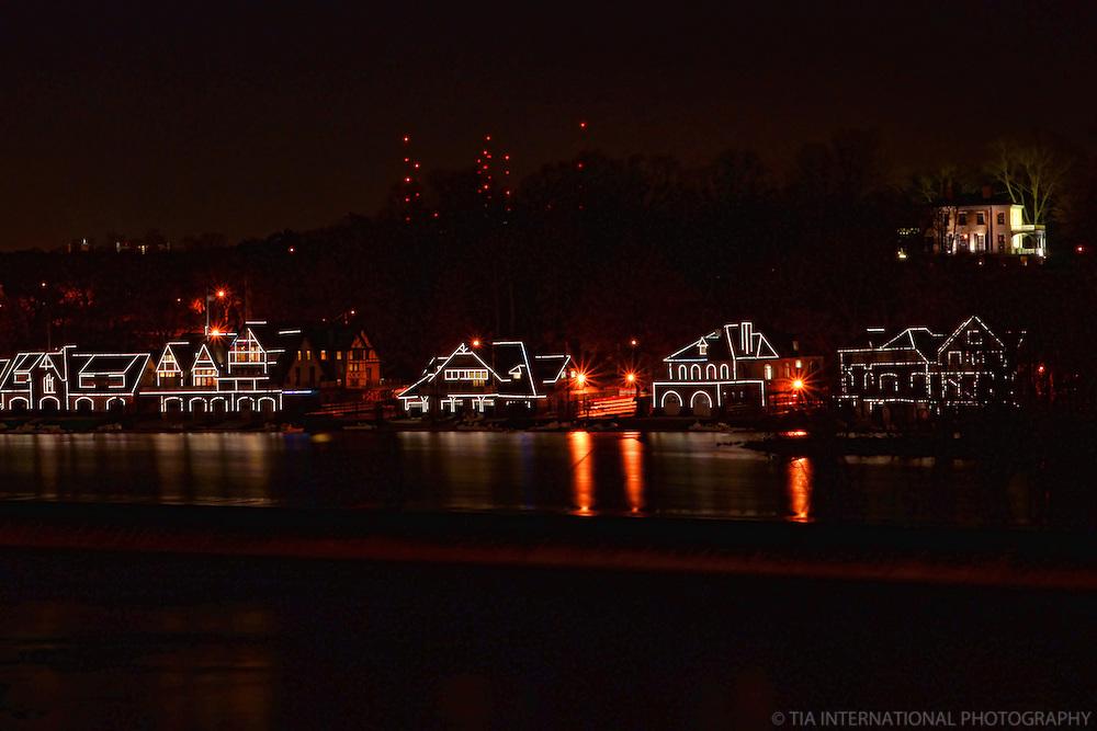 Boathouse Row, Schuylkill River
