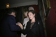 Ginevra Elkann, Party for Jean Pigozzi hosted by Ivor Braka to thank him for the loan exhibition 'Popular Painting' from Kinshasa'  at Tate Modern. Cadogan sq. London. 29 May 2007.  -DO NOT ARCHIVE-© Copyright Photograph by Dafydd Jones. 248 Clapham Rd. London SW9 0PZ. Tel 0207 820 0771. www.dafjones.com.