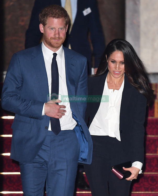 Prince Harry and Meghan Markle attend the annual Endeavour Fund Awards at Goldsmiths Hall, London, UK, on the 1st February 2018. 01 Feb 2018 Pictured: Prince Harry and Meghan Markle attend the annual Endeavour Fund Awards at Goldsmiths Hall, London, UK, on the 1st February 2018. Photo credit: James Whatling / MEGA TheMegaAgency.com +1 888 505 6342