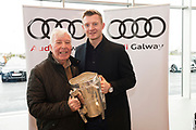 Connolly Motor Group has opened its new state-of-the-art Audi Terminal Showrooms in Ballybrit, Galway. <br /> The finishing touches have been put to the ultra-modern dealership, increasing to 35 full-time jobs, bringing the number of full-time employees at the Connolly Motor Group to over  200 with 35 of those located in Galway.<br /> Work on the new €5 million state-of-the-art dealership began just before Christmas last year and opened on Tuesday October 31st.<br /> The new 'Audi Terminal' is just a stone's throw from Connollys' former Audi Galway dealership at the Briarhill Business Park, close to the Galway Racecourse in Ballybrit. <br /> Finished to the highest spec with the most up-to-date technology, the 23,000 sq. ft. car retail facility is based around Audi's newest design concept. <br /> It is one of the most modern facilities in the country and includes the most up-to-date technology for electric vehicles with multiple power points.<br /> At the Weekend launch was Joe Canning Audi Ambassador with D fr. Des Walsh Lackagh. Photo:Andrew Downes