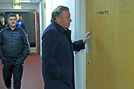AFC Wimbledon manager Wally Downes arriving during the EFL Sky Bet League 1 match between Charlton Athletic and AFC Wimbledon at The Valley, London, England on 15 December 2018.