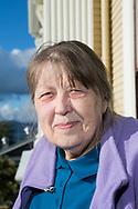 Liisa Penner, född i Finland och emigrerade som litet barn till USA. Hon arbetar som arkivarie på Clatsop County Historical Society med specialkunskap på den finska invandringen till Astoria.  <br /> <br /> Foto: Christina Sjögren