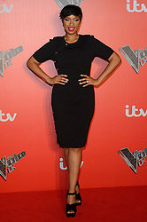 © Licensed to London News Pictures. 04/12/2017. JENNIFER HUDSON attends the Launch of The Voice UK on ITV, London, UK. Photo credit: Ray Tang/LNP
