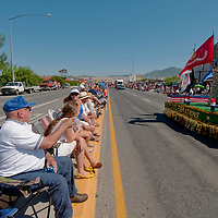 People in Butte, Montana celebrate the Fourth of July with a parade (2011.)