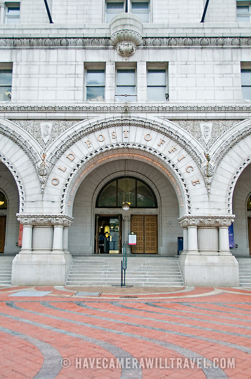 Old Post Office, Washington DC, on Pennsylvania Avenue