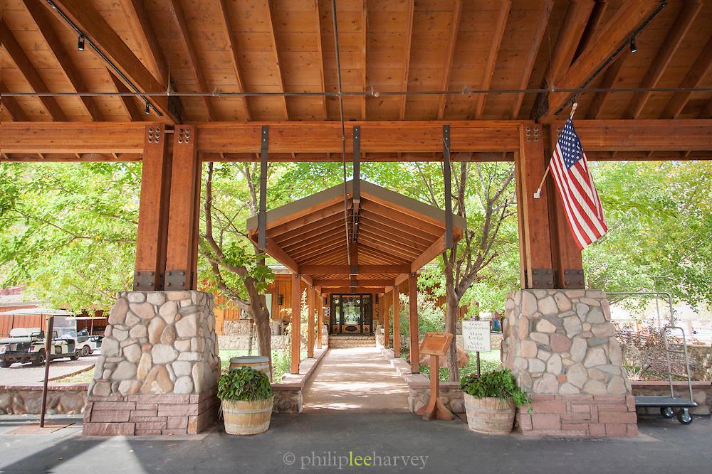 Sorrel River Ranch entrance, Moab, Utah, United States of America