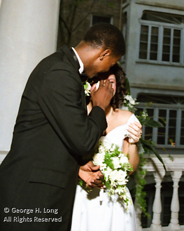 The wedding of Nanette Jolivette and Marcus Brown on October 12, 1991