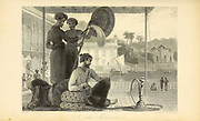 A Rich Mahomedan From the book ' The Oriental annual, or, Scenes in India ' by the Rev. Hobart Caunter Published by Edward Bull, London 1836 engravings from drawings by William Daniell