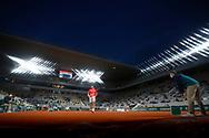NovakDJOKOVIC (SRB) during the Roland Garros 2020, Grand Slam tennis tournament, on October 9, 2020 at Roland Garros stadium in Paris, France - Photo Stephane Allaman / ProSportsImages / DPPI