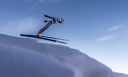 21.02.2019, Bergiselschanze, Innsbruck, AUT, FIS Weltmeisterschaften Ski Nordisch, Seefeld 2019, Nordische Kombination, Skisprung, Training, im Bild Franz Josef Rehrl (AUT) // Franz Josef Rehrl of Austria during a training of Ski Jumping competition for Nordic Combined of FIS Nordic Ski World Championships 2019. Bergiselschanze in Innsbruck, Austria on 2019/02/21. EXPA Pictures © 2019, PhotoCredit: EXPA/ JFK