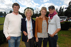 Left to right, JACK KIDD, WENDY KIDD, the COUNTESS OF MORNINGTON and JODIE KIDD at a charity polo match organised by Jaeger Le Coultre at Ham Polo Club, Richmond, Surrey on 29th June 2007.<br /><br />NON EXCLUSIVE - WORLD RIGHTS