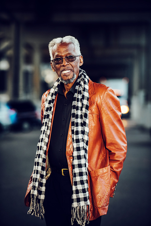 Portrait of jazz artist David Watson