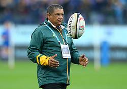 November 19, 2016 - Rome, Italy - South Africa head coach Allister Coetzee  during the international match between Italy v South Africa at Stadio Olimpico on November 19, 2016 in Rome, Italy. (Credit Image: © Matteo Ciambelli/NurPhoto via ZUMA Press)