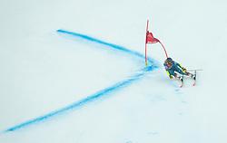 Nina O Brien (USA) competes during 2nd Run of Ladies' Giant Slalom at 57th Golden Fox event at Audi FIS Ski World Cup 2020/21, on January 16, 2021 in Podkoren, Kranjska Gora, Slovenia. Photo by Vid Ponikvar / Sportida