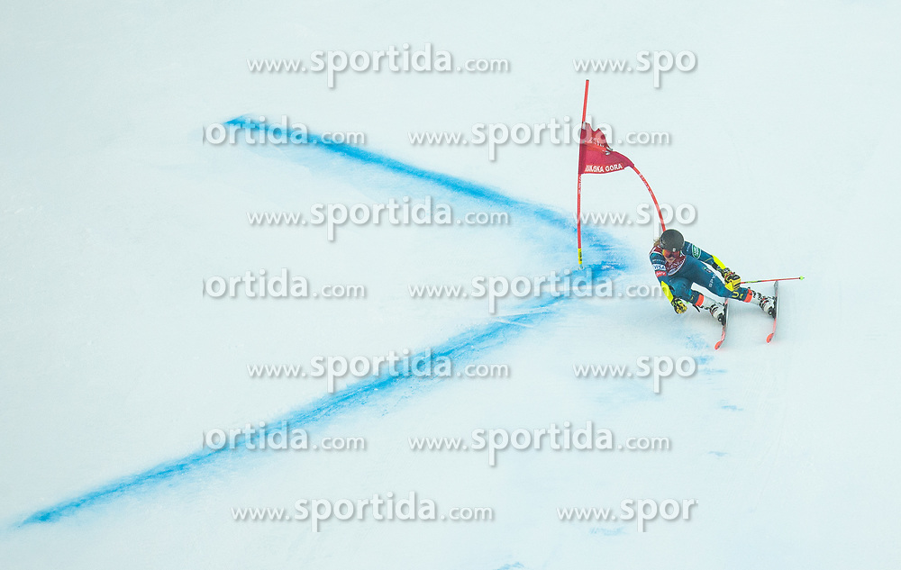 Nina O Brien (USA) competes during 2nd Run of Ladies' Giant Slalom at 57th Golden Fox event at Audi FIS Ski World Cup 2020/21, on January 16, 2021 in Podkoren, Kranjska Gora, Slovenia. Photo by Vid Ponikvar / Sportida