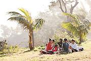 Locals enjoying the beach at Fort Dauphin, Madagascar