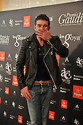 MADRID, SPAIN, 2015, NOVEMBER 12 <br /> Goya Awards this year will start on November 12 with the presence of Antonio Banderas, Goya of Honor 2015. This year, the two academies cinema, Catalan and Spanish, and the Film Archive of Catalonia screened some of the films competing their respective awards. With the aim of promoting the work of the honorary awards granted annually by the two entities, the cycle Gaudi Awards<br /> ©Exclusivepix Media