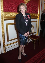 December 12, 2016 - London, United Kingdom - Image licensed to i-Images Picture Agency. 08/12/2016. London, United Kingdom.  Dame Esther Rantzen during a Christmas Party at St James's Palace, London for The Not Forgotten Association - a national tri-service charity which provides entertainment, leisure and recreation for the serving wounded, injured or sick and for ex-service men and women with disabilities. Picture by ROTA / i-Images  UK OUT FOR 28 DAYS (Credit Image: © Rota/i-Images via ZUMA Wire)