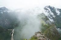 Inca city, Machu Picchu, Peru