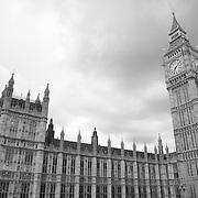 Parliment - Westminster, UK - Black & White