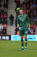 Football - 2016 / 2017 Premier League - AFC Bournemouth vs. Hull City<br /> <br /> David Marshall of Hull City at Dean Court (The Vitality Stadium) Bournemouth<br /> <br /> Colorsport/Shaun Boggust